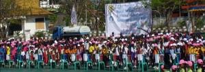 Kemeriahan Hari Cuci Tangan Pakai Sabun Sedunia Di Kota Kupang
