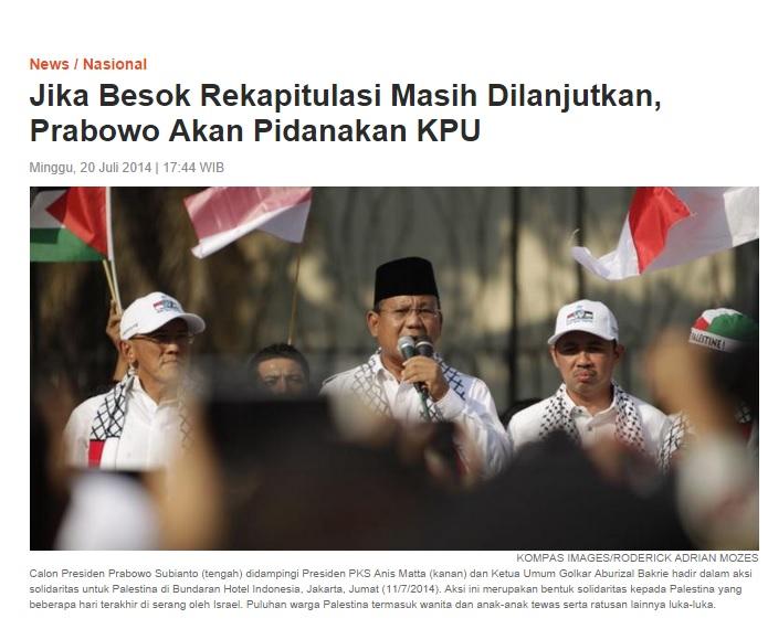 Prabowo ngamuk