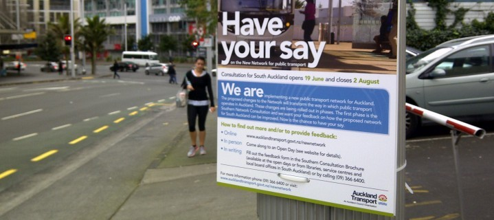 How are Aucklanders Plan Their Transportation System